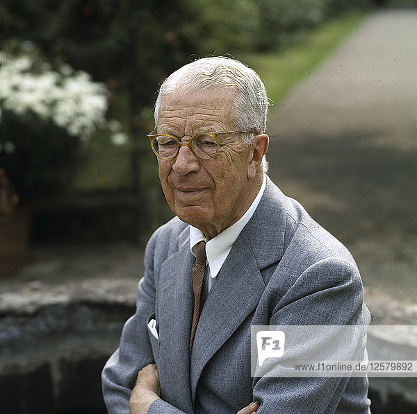King Gustaf VI Adolf of Sweden  c1970s(?). Artist: Unknown