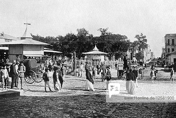 Market place  Asuncion  Paraguay  1911. Artist: Unknown