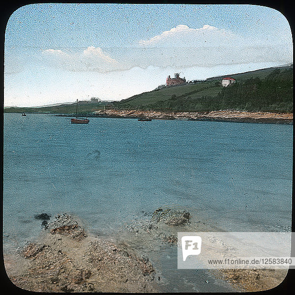 St Mawes Castle  Cornwall  late 19th or early 20th century. Artist: Church Army Lantern Department