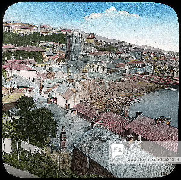 St Ives  Cornwall  late 19th or early 20th century. Artist: Church Army Lantern Department