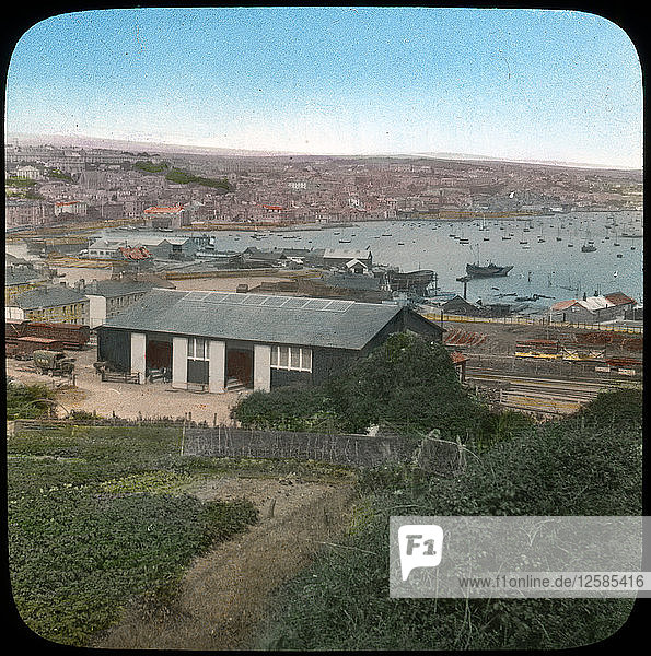 Falmouth  Cornwall  late 19th or early 20th century. Artist: Church Army Lantern Department