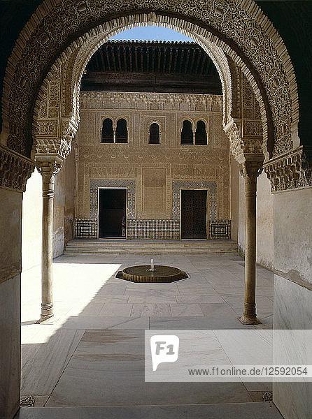 The Patio del Mexuar The Alhambra Palace  Granada Country of Origin: Spain.