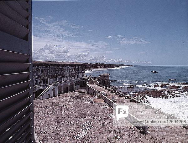 Cape Coast Castle  Britains main fort on the Gold Coast.