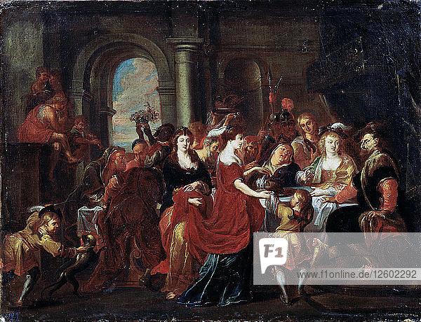 The Feast of Herod  17th century. Artist: Abraham Jansz van Diepenbeeck