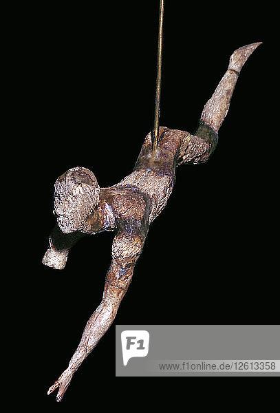 Minoan ivory bull-leaper Artist: Unknown
