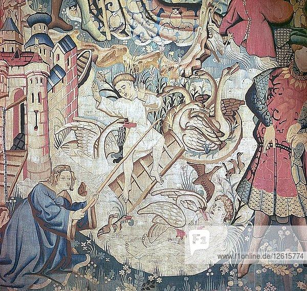 Devonshire Hunting Tapestries  15th century. Artist: Unknown