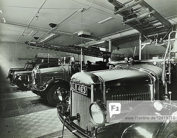Knightsbridge Fire Station  No 16 Basil Street  Chelsea  London  1939. Artist: Unknown.