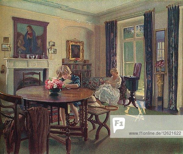 A June Interior  c1923. Artist: Louis Ginnett.