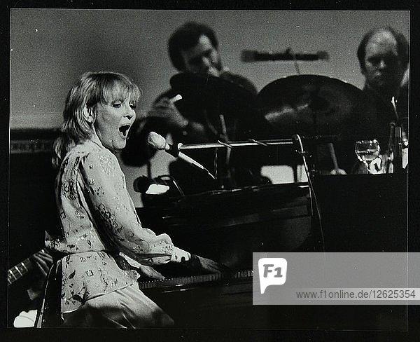 Petula Clark in concert at the Forum Theatre  Hatfield  Hertfordshire  28 January 1984. Artist: Denis Williams