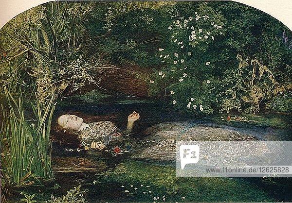 Ophelia  1851-2  (1911). Artist: John Everett Millais