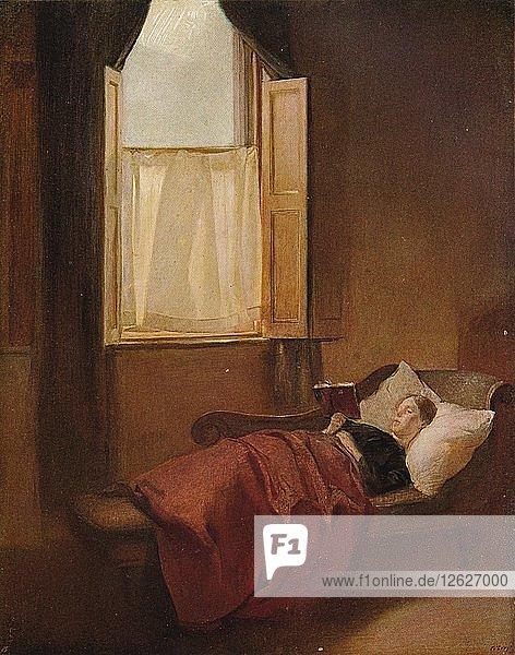 The Convalescent  c1900. Artist: Ambrose McEvoy.