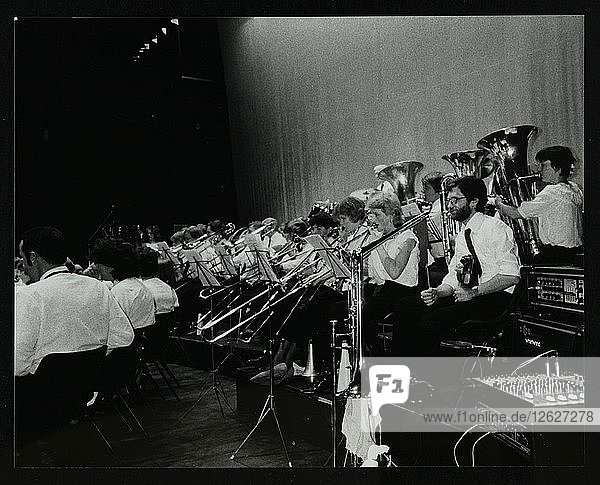 The Hatfield Concert Band in concert at the Forum Theatre  Hatfield  Hertfordshire  April 1985. Artist: Denis Williams