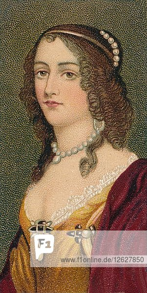 Elisabeth of the Palatinate   (1618-1680)  1912. Artist: Unknown