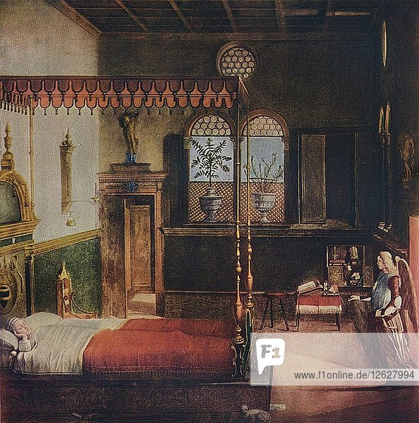 The Dream of St Ursula  1495  (1911).