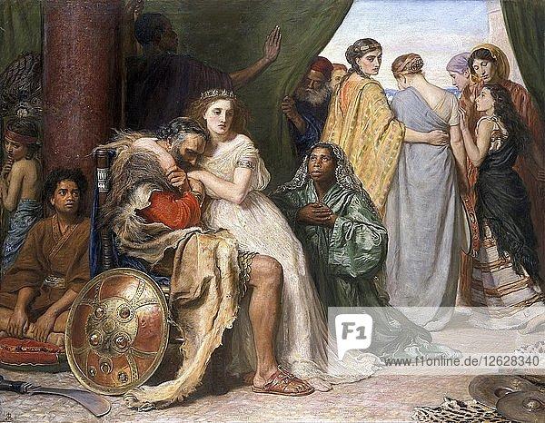 Jephthah  1867. Artist: John Everett Millais.