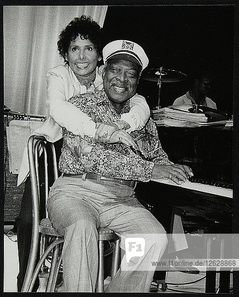 Count Basie and Lena Horne at the Grosvenor House Hotel  London  1979. Artist: Denis Williams