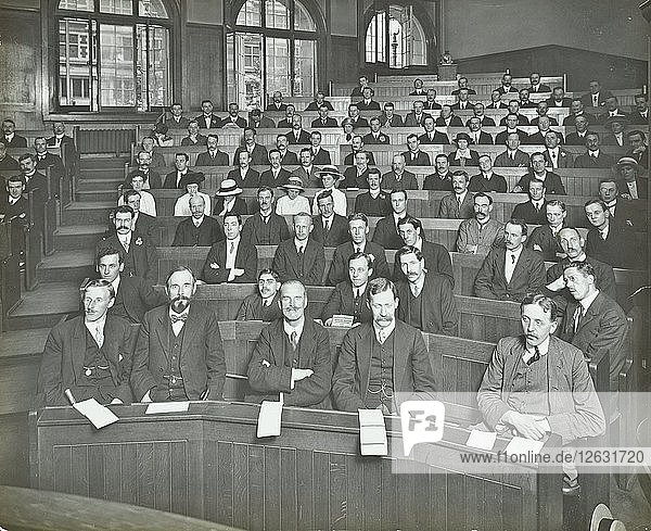A class listening to a lecture  London Day Training College  1914. Artist: Unknown.