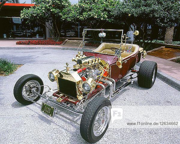 1923 Ford model T custom hot rod. Artist: Unknown.