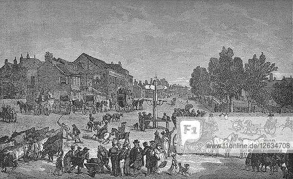 The Old Elephant and Castle Inn  c1785  (1912). Artist: Unknown.