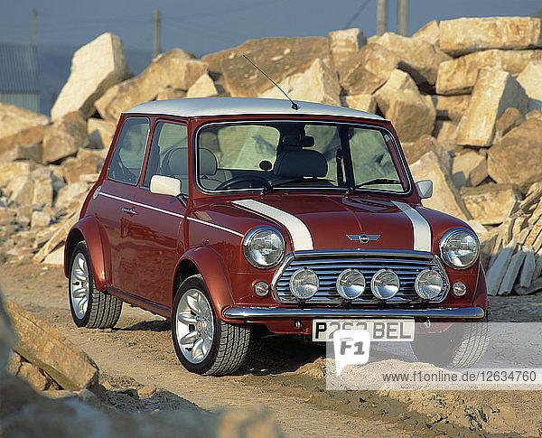 1997 Rover Mini Cooper. Artist: Unknown.