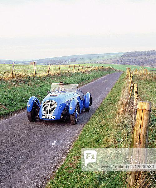 1950 Healey Silverstone. Artist: Unknown.