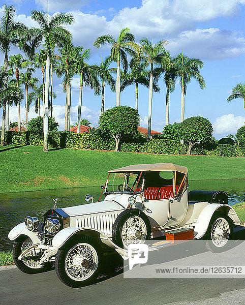 1919 Rolls Royce Silver Ghost Cockshoot . Artist: Unknown.