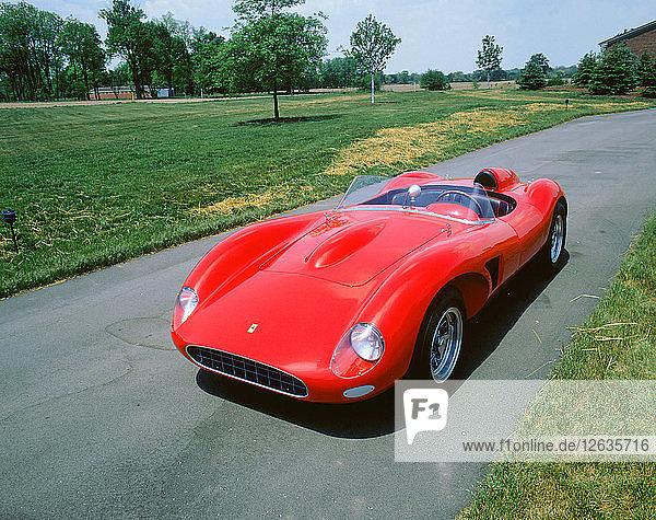 1958 Ferrari Testarossa. Artist: Unknown.