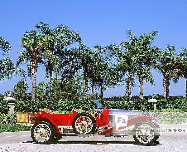 1912 Rolls Royce Silver Ghost. Artist: Unknown.