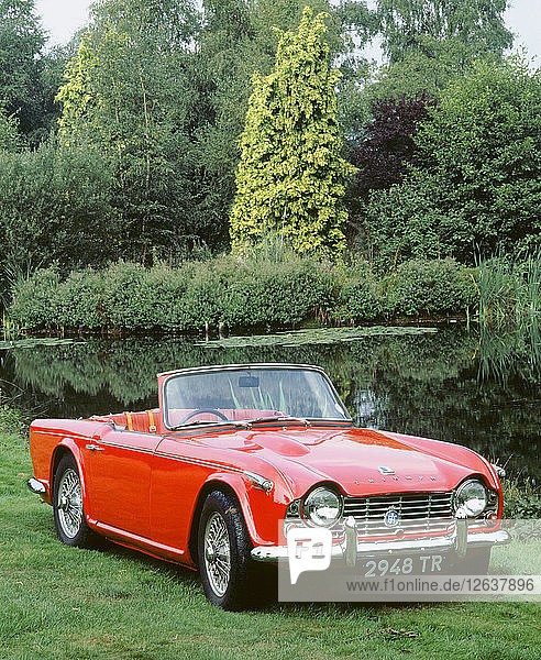 1964 Triumph TR4. Artist: Unknown.
