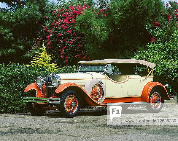 1929 Stutz model M Straight 8. Artist: Unknown.