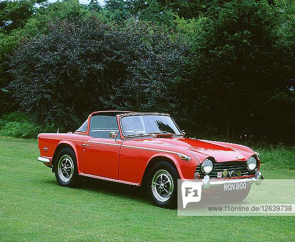 1967 Triumph TR5. Artist: Unknown.