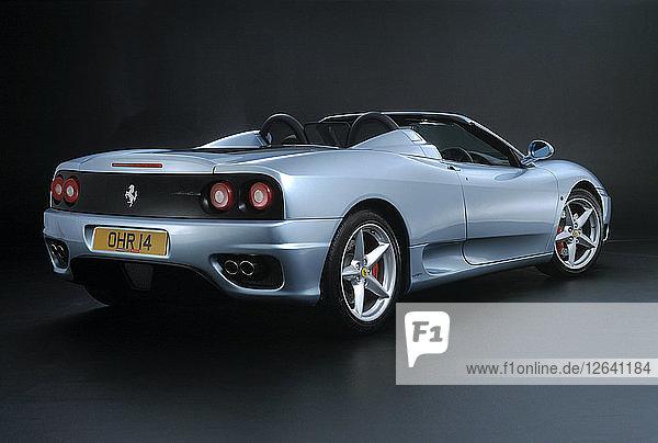 2001 Ferrari 360 Modena Spider Artist Unknown