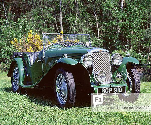 1935 Hillman Aero Minx. Artist: Unknown.