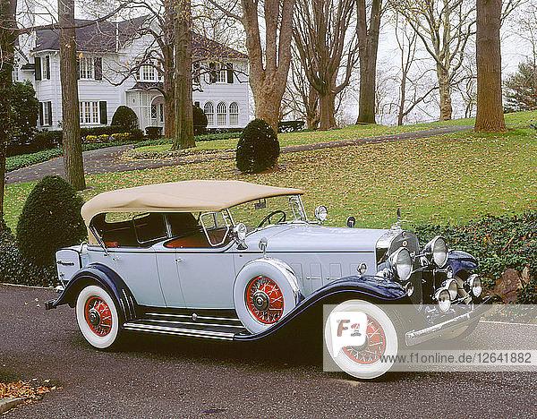 1931 Cadillac Fleetwood 370A V12. Artist: Unknown.