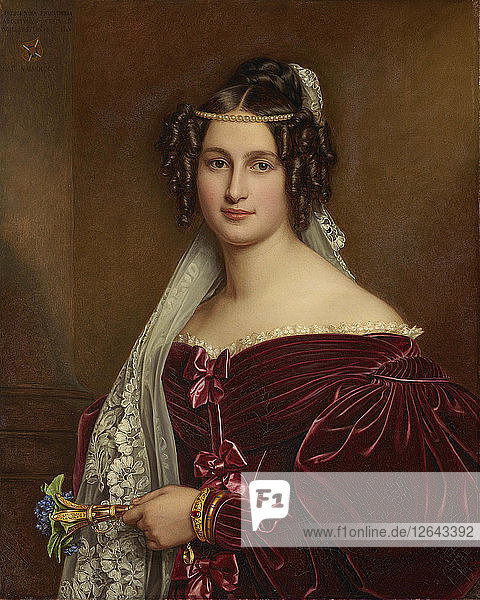 Portrait of Princess Maria Crescentia of Oettingen-Wallerstein (1806-1853)  1836.