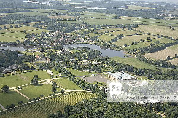 Beaulieu Aerial shots. Artist: Unknown.
