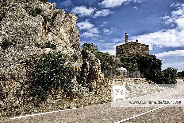 Casa di Roccapina  Sartene  Korsika  Frankreich  Europa
