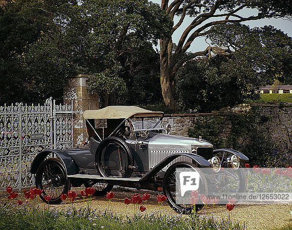 1913 Vauxhall Prince Henry Artist: Unknown.