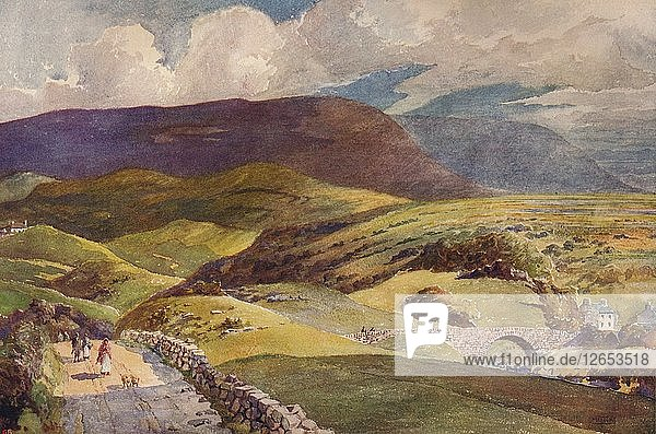 A Landscape in Donegal  c1915. Artist: William Monk.