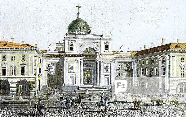 The Catholic Church of St. Catherine in Saint Petersburg.