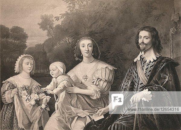 George Villiers  Duke of Buckingham and Family  1628  (1904). Artist: Gerrit van Honthorst.