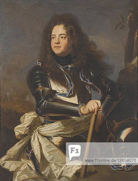 Portrait of Louis Henri de La Tour dAuvergne (1679-1753)  .