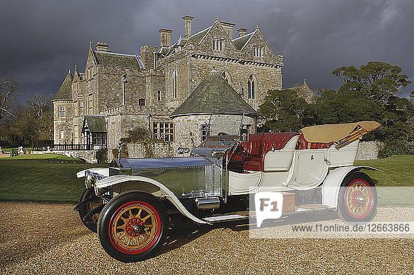 1909 Rolls Royce Silver Ghost . Artist: Unknown.
