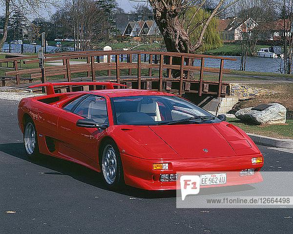 1993 Lamborghini Diablo Artist: Unknown.