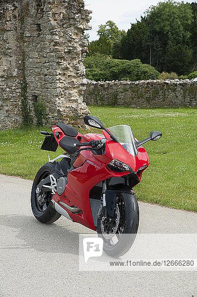2014 Ducati 899 Panigale Artist: Unknown.