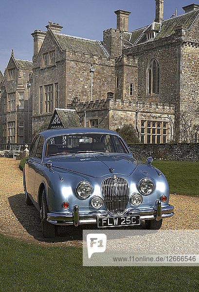 1965 Jaguar Mk2 3.8 Artist: Unknown.