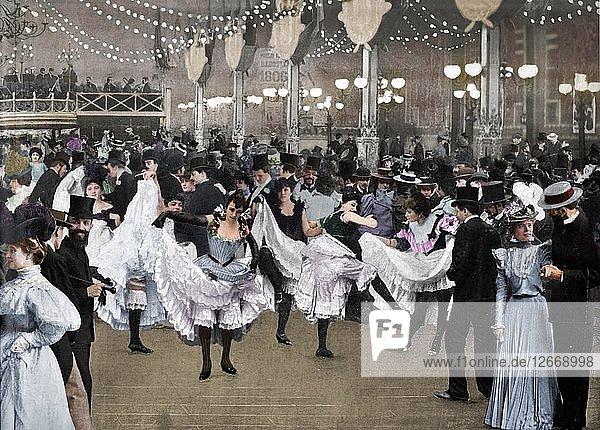Le Bal Du Moulin-Rouge  1900. Artist: Unknown.