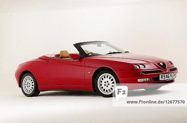 1997 Alfa Romeo Spyder Artist: Unknown.