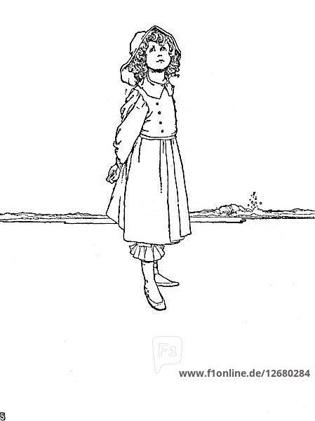 And Karen Was Dressed Very Neatly  c1930. Artist: W Heath Robinson.
