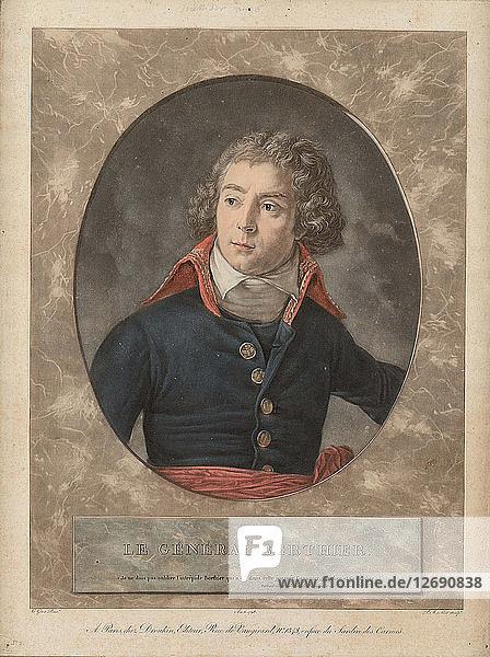 Louis-Alexandre Berthier (1753-1815) at Lodi on 10 May 1796  1798.